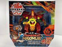 Bakugan Battle Planet Dragonoid Maximus Transforming Action Figure NEW