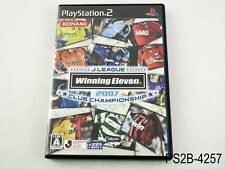 Winning Eleven 2007 Club Championship Playstation 2 Japanese Import US Seller B