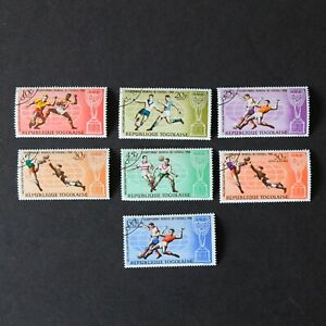 1966 TOGO Postage Stamps Set - Africa Football World Cup London Sport 614