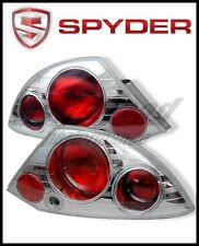 Spyder Mitsubishi Eclipse 00-02 Euro Style Tail Lights Chrome