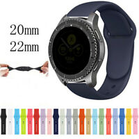Silicone Watch Strap Band Replacement Bracelet For Samsung Galaxy Watch 42mm