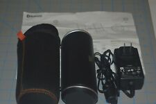 Jbl Flip 2 Portable Bluetooth Speaker - Black With Charger & Carrying Case