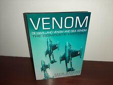 De Havilland Venom & Sea Venom The Complete History Hardcover David Watkins
