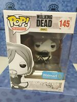 Funko POP! The Walking Dead Figure -DARYL DIXON (Black and White) #145 (Excl) w/
