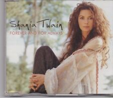 Shania Twain-Forever And For Always promo cd single