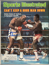Earnie Shavers signed autographed Sports Illustrated magazine! Authentic!
