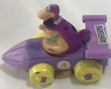 Vintage Fred Flinstones Dino Dinosaur Race Car Kids Meal Collectible Htf