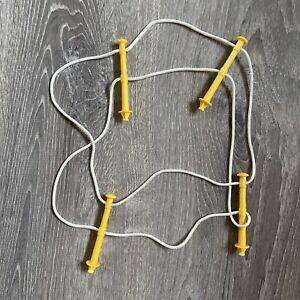 Mattel Rockem Sockem Robots Game Replacement Part Ropes Posts Stands