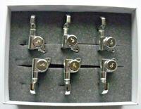 Schaller M6 Locking Tuners 135° Mechaniken 3L 3R Chrome