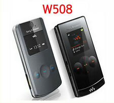 Sony Ericsson W508i Walkman Flip Fold GSM Stylish(Unlocked)-Black Mobile Phone