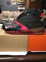 Nike Zoom Vick Size 9 Atlanta Falcons (Away) Black & Red