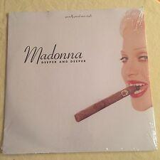 "MADONNA - Deeper and Deeper - original SEALED 1992  vinyl 12"" USA"