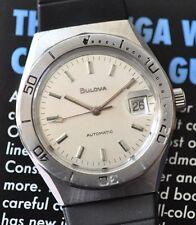 Vintage Original Bulova Diving Watch Automatic Diver Serviced Runs & Looks Great