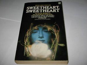 SWEETHEART SWEETHEART by BERNARD TAYLOR - RARE 1978 FONTANA PB BOOK Horror Novel