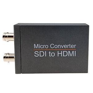 3GSDI HDSDI to HDMI Converter SDI BNC Loop 1080P 60Hz 2.97Gbps Adapter 5V Power
