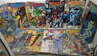 MANHUNTER DC COMIC Lot  JOHN OSTRANDER KIM YALE 1988/89 # 1 2 3 4 5 6 7 9 15-18