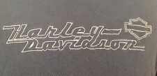 Harley Davidson of Seattle Forest Green Short Sleeve Round Neck Knit Top Size XL