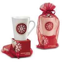 2x Ceramic Nordic Mug + 18.5g Cappuccino/Latte Giftwrap Birthday Fathers Day