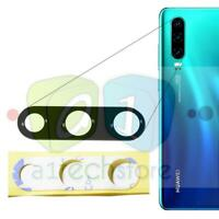 Huawei P30 OEM Replacement Rear Main Back Camera Glass Lens with adhesive