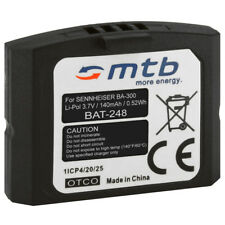 Batterie BA300 BA-300 pour Sennheiser RI 830, Set 830 TV, RR 4200, RS 4200 II