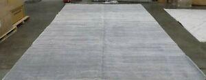 IVORY / SILVER 12' X 18' Damaged Binding Rug Less Price 1172579294 ADR113B-1218