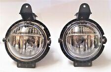 Pair Right Left fog lights for 2007 2008 2009 2010 2011 12 13 14 15 Mini Cooper