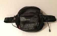 Fubu The Collection Fanny pack Bag Purse 1992 Black Daymond John of Shark Tank