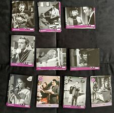 THE AVENGERS (TV series) {71 out of 100 card set} STRICTLY INK TRADING CARDS