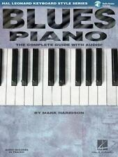 Blues Piano : Hal Leonard Keyboard Style Series, Paperback by Harrison, Mark