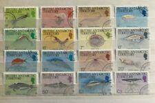 British Antarctic Territory - 1984. Marine Life Set.Fine Used SG 184-138.