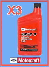 3 Quarts OEM FORD Automatic Transmission Fluid ATF MOTORCRAFT XT6QSP MERCON SP