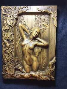 Venus Painting wood carving, wall art, picture, wall hangings