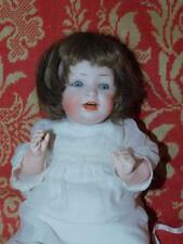 """Antique Heubach 320 Character Baby Doll Breather 15"""" T Bisque German Compio Body"""
