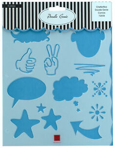 Chatter Box Doodle Genie Comics Shapes Doodling Writing Journal Template