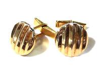 Bijou plaqué or 18 carats boutons de manchette Ilcor  ?  cuff links