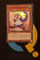 1st Ed. MYFI-EN016 Super Rare Card YuGioh Laundry Dragonmaid NM
