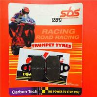 Yamaha TZ 125 97 > ON SBS Rear Carbon Tech Brake Pads OE QUALITY 659RQ