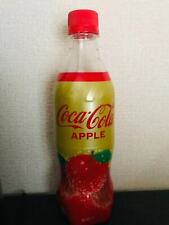 NEW 1 x bottle APPLE COKE - 500ml Japanese Coca Cola from Japan UNOPENED
