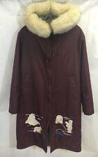 Central Sportswear Polar Bear Parka Eskimo Thinsulate Jacket Size 10