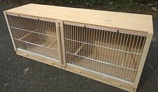 "Double Canary Breeding Cage  38"" x 15 x 12."