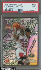1996 Topps Stadium Club Top Crop Michael Jordan Gary Payton PSA 9 MINT