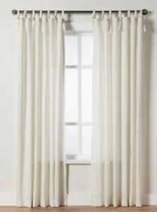 Windowpane Plaid Curtain Panel - Hearth & Hand™ with Magnolia. MSRP $34.99