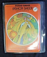 Vintage Parke-Davis Fashion Sheer Support Panty Hose Petite Smoky Taupe MIP NOS