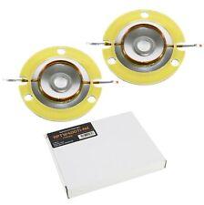 2x reemplazo Diafragma PRV Audio PRV-rptw 400Ti-Nd para Cone Kit TW400Ti-Nd Re