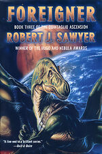 FOREIGNER Robert J. Sawyer signed dinosaur novel