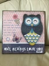 Owl Wall Plaque