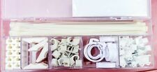 CABLE MANAGEMENT SETS X3 - SUPPLIED IN USEFUL RE-USABLE STORAGE CASE - NEW