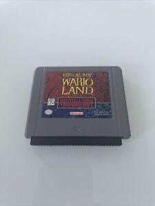Nintendo 3D Virtual Boy VB Jeu Wario Land Warioland avec capuchon