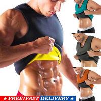 Men Waist Trainer Vest Sauna Sweat Body Shaper Tank Top Slimming Trimmer Shirt