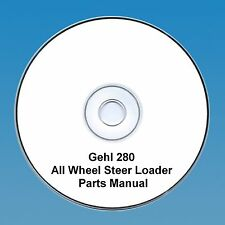 Gehl 280 All Wheel Steer Loader  Parts Manual